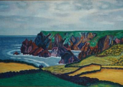 Blick v. Lizard Village, 70x45, 1997