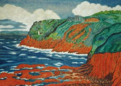 Rotes Kliff u. alte Minen, 70x50, 2004