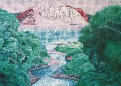 Halde am Meer, 70x60, 1992