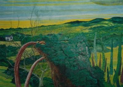 Landschaftsgarten, 60x70, 1997