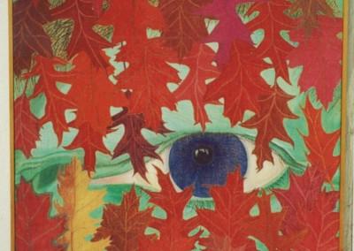 Das Auge des Ehemannes, 70x70, 1985