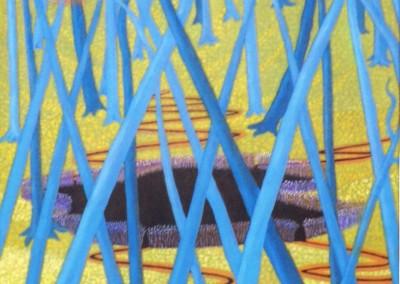 Tanzender Wald, 50x70, 2015
