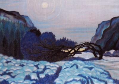 Stille Bucht, 80x60, 2000