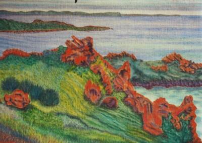 Sommerliches Cornwall, 70x50, 2003