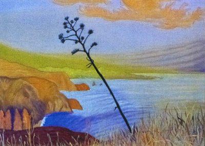 Das Gelbwunder, 50x70 cm, Öl auf Leinwand, 2020