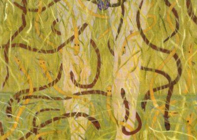 Patrik Svenssons Traum, 40x50 cm, Öl auf Leinwand, 2020